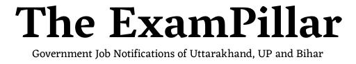 Jobs TheExamPillar