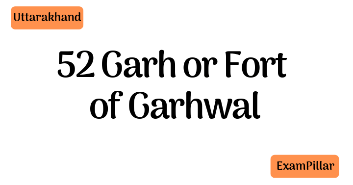 52 Garh or Fort of Garhwal
