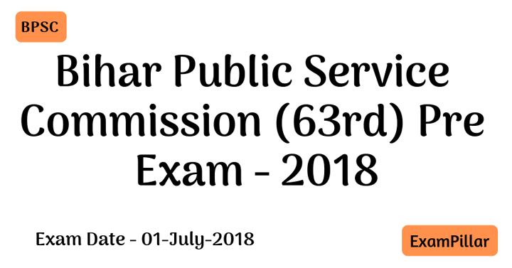 Bihar PCS 2018