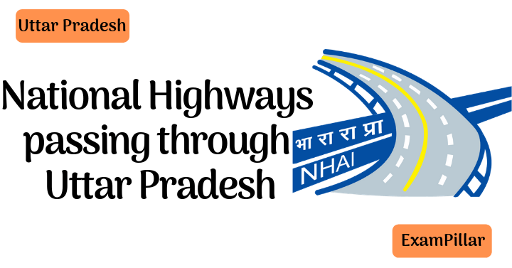 National Highways passing through Uttar Pradesh
