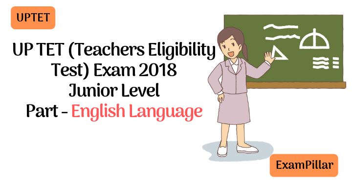 UPTET 2018 Exam Paper Second Session English Language