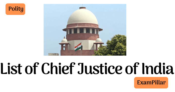 List of Chief Justice India