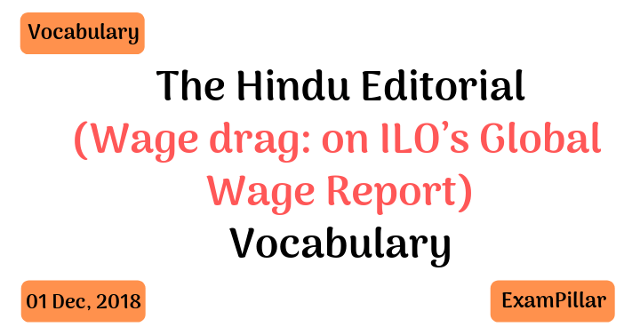The Hindu Editorial Vocab – 01 Dec, 2018