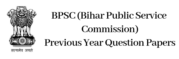 BPCS Previous Year Question Papers