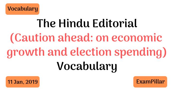 The Hindu Editorial Vocab