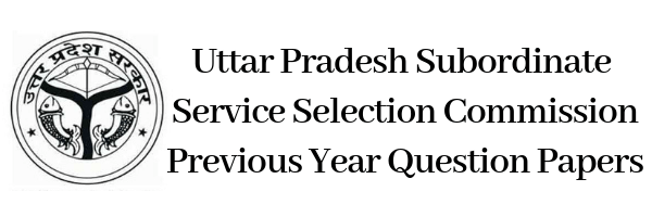 UPSSSC Previous Year Question Papers