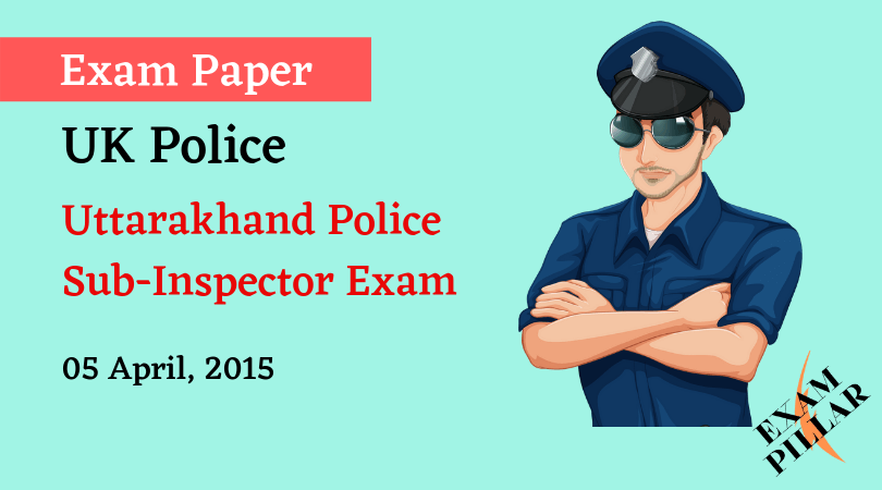UK Police SI Exam 2015