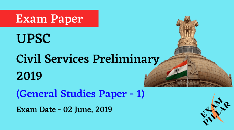 UPSC Prelims Answer Key 2019 - Paper 1 (General Studies)