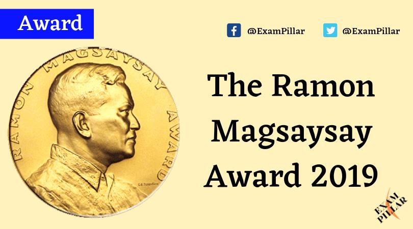 Ramon Magsaysay Award 2019