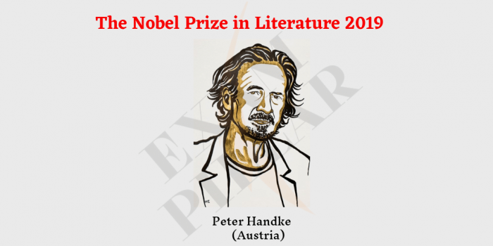 The Nobel Prize in Literature 2019