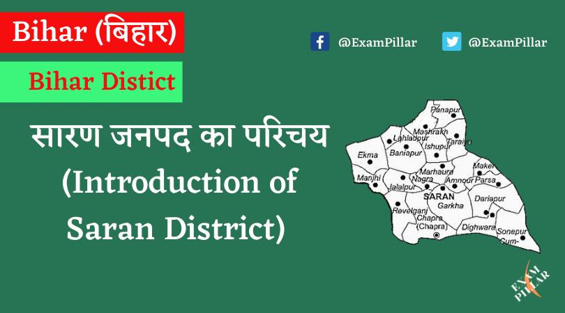 Introduction of Saran District