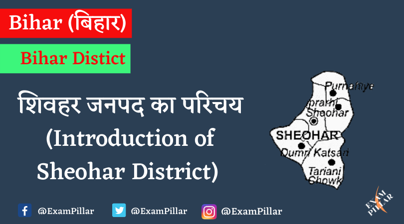 Introduction of Sheohar District