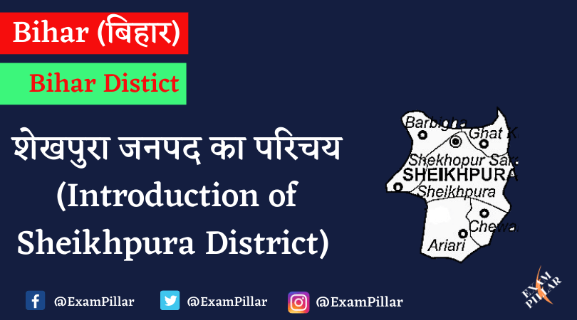 Introduction of Sheikhpura District