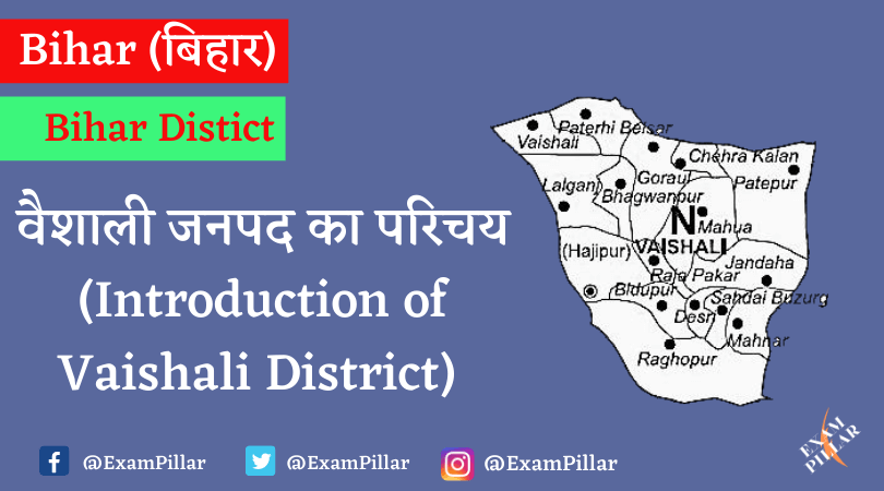 Introduction of Vaishali District