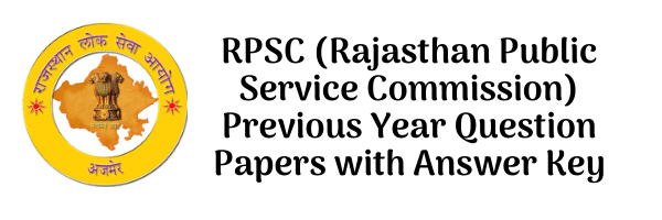 RPSC Previous Year Question Papers