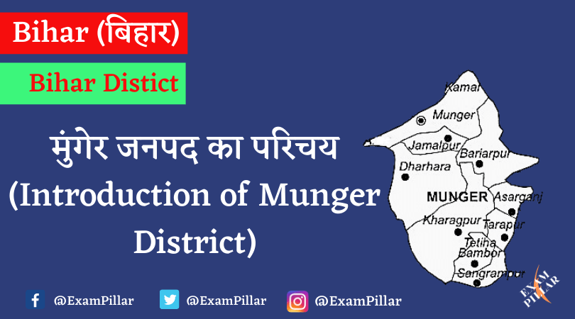 Introduction of Munger District