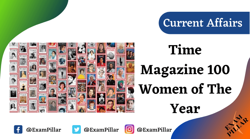 Time Magazine 100 Women of The Year