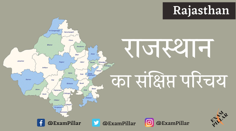 Brief Introduction of Rajasthan