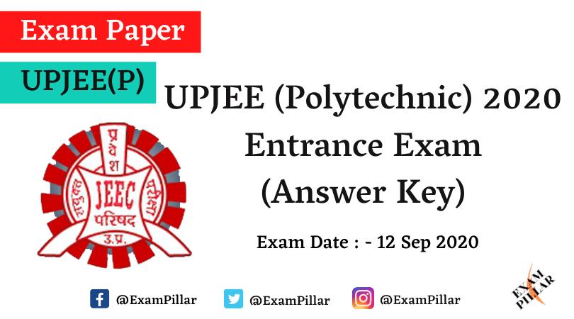 UP Polytechnic Entrance Exam 2020 (Answer Key)