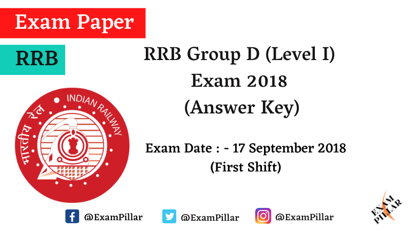 RRB Group D Previous Year Exam Paper