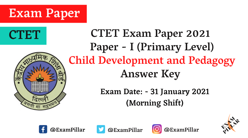 CTET 2021 Answer Key